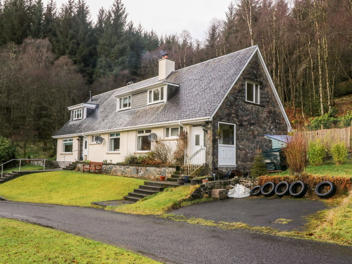 Glenfinglas Dam Cottage - Scottish Highlands - 1036811 - photo 1