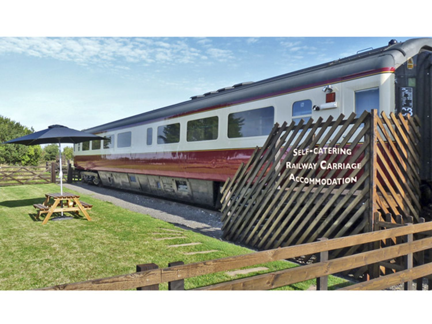 Converted Railway Carriage - North Yorkshire (incl. Whitby) - 3877 - photo 1