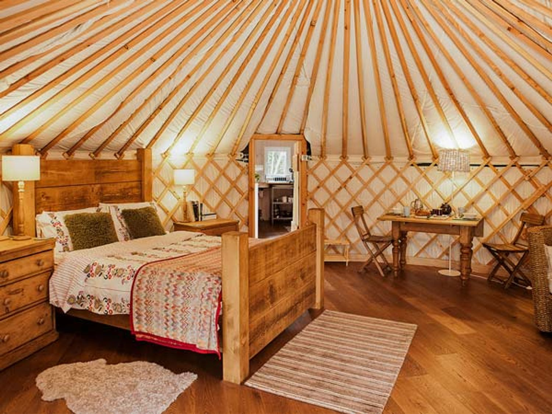 The Rowan Yurt, Yorkshire Dales