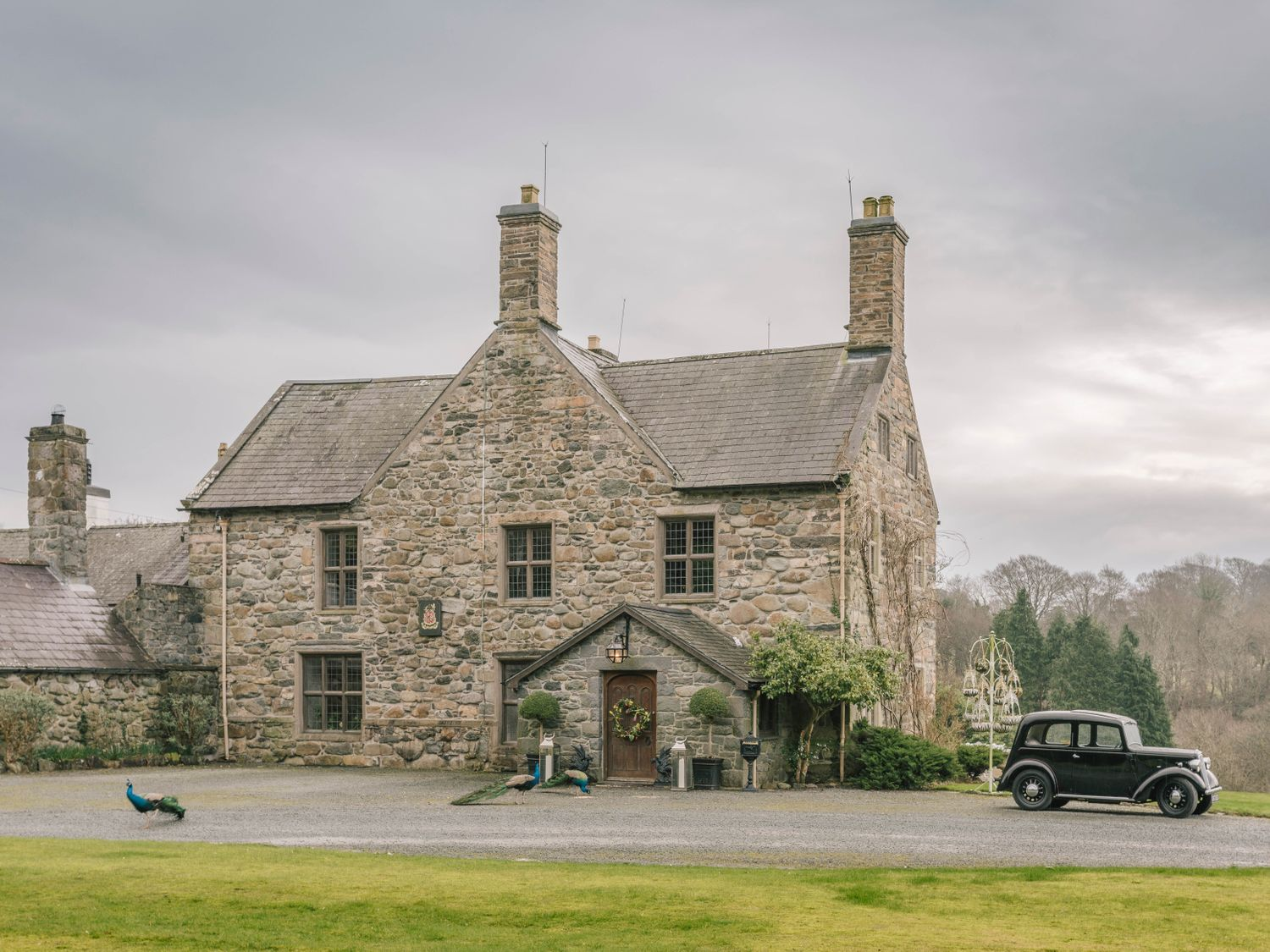 Talhenbont Hall - North Wales - 936824 - photo 1