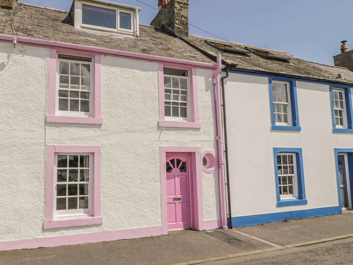 The Pink House, Dumfries and Galloway