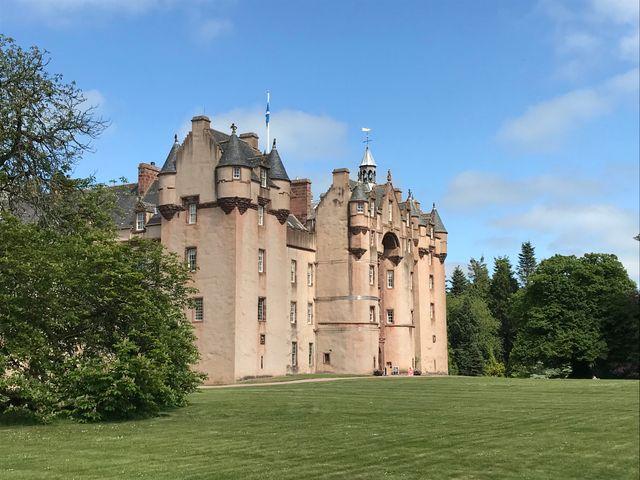Castle in Turriff, Scotland