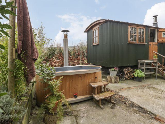 Shepherd's hut in Dorset