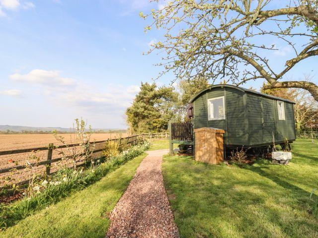 Shepherd's hut in Somerset