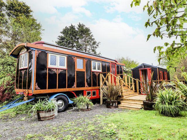 Circus Wagon in Wales
