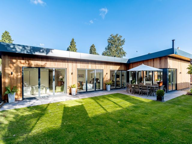 Contemporary holiday home in Shropshire