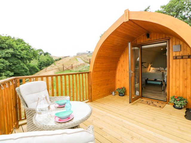 Glamping Pod in Northumberland