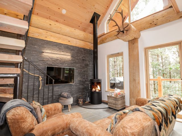 Wooden Lodge in Cairngorms National Park, Scotland