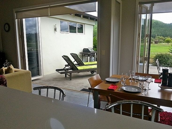 Kitchen to Dining and Outdoor Living