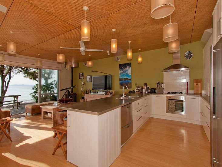 Kitchen and Living - Main House