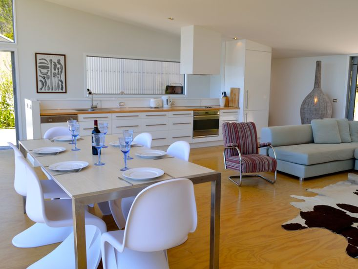 Dining, Living, Kitchen - Upstairs