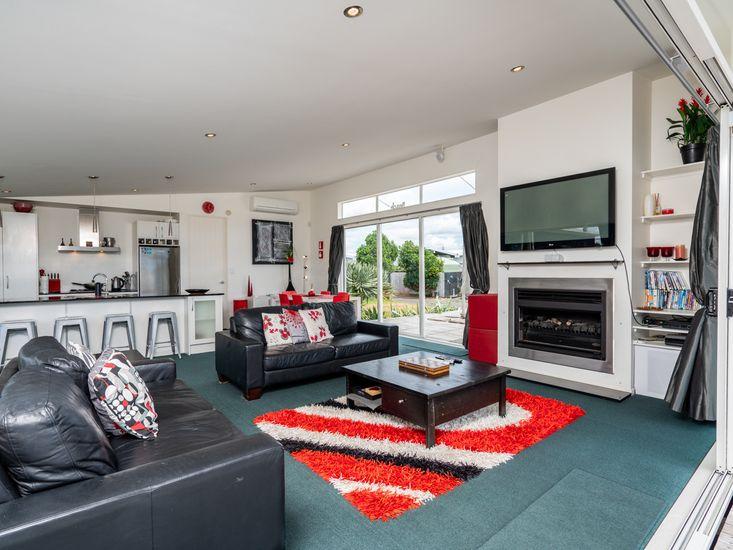 Stylish and Comfy Lounge Area