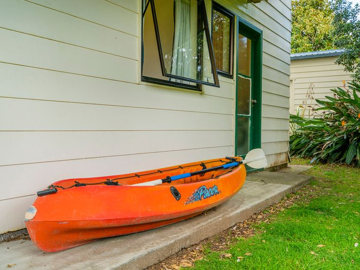 One kayak available to use *Guests must bring your own lifejackets to gain access to this