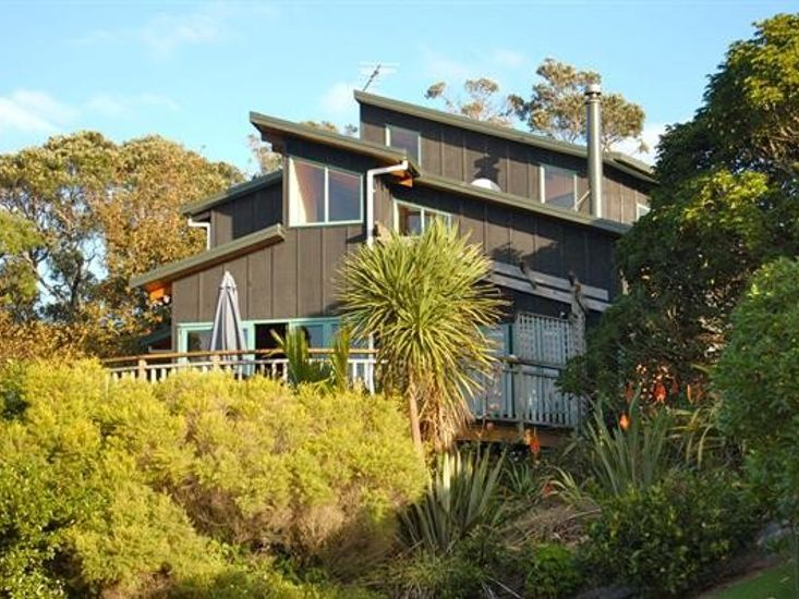 The Blue Pengiun, Kuaotunu Holiday Home - Close Exterior Shot