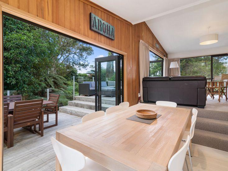 Dining Room onto deck