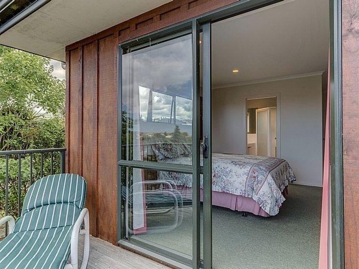 Bedroom 1 to Deck