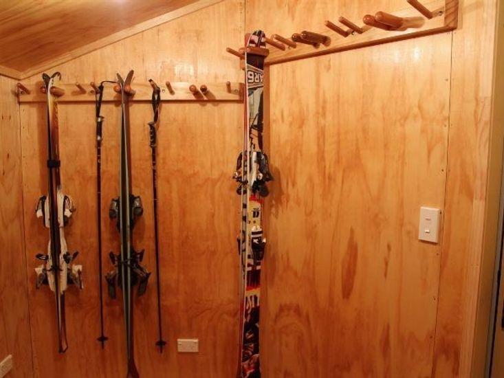 Storage for Ski Gear