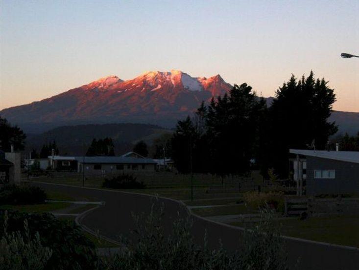 View at Sundown in Summer
