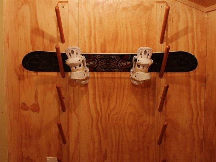 Storage for Snowboards