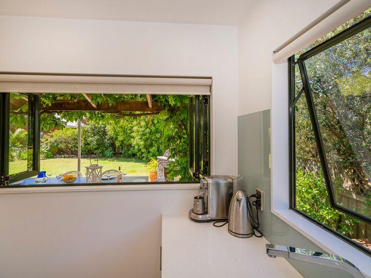Garden Views from Kitchen