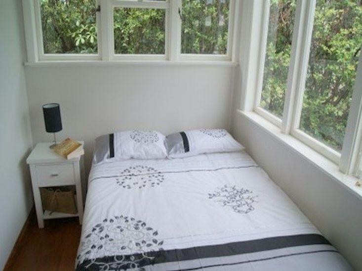 Bedroom in Back Bach
