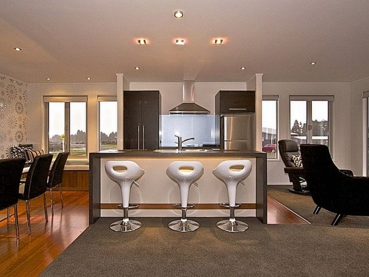 Dining, Kitchen, Living