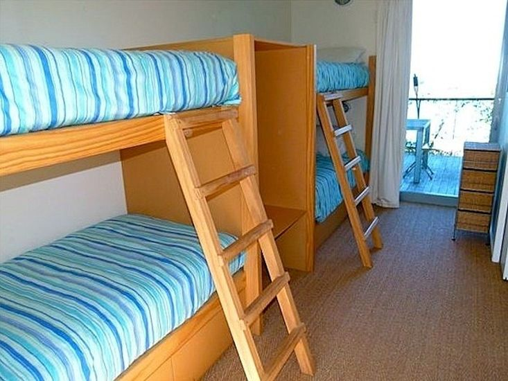 Bedroom 4 - Upper bunks now have safety barriers