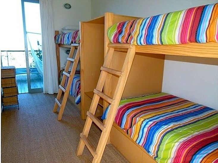 Bedroom 3 - Upper bunks now have safety barriers