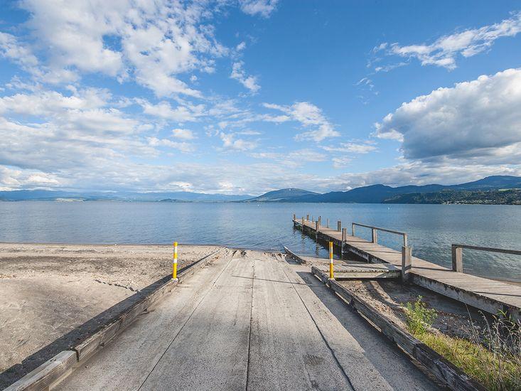 Lake Taupo - Not taken from Property