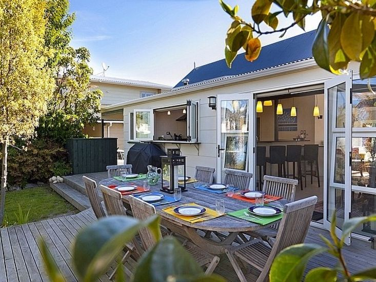 Findlay Cottage - Taupo Holiday Home - Outdoor Living
