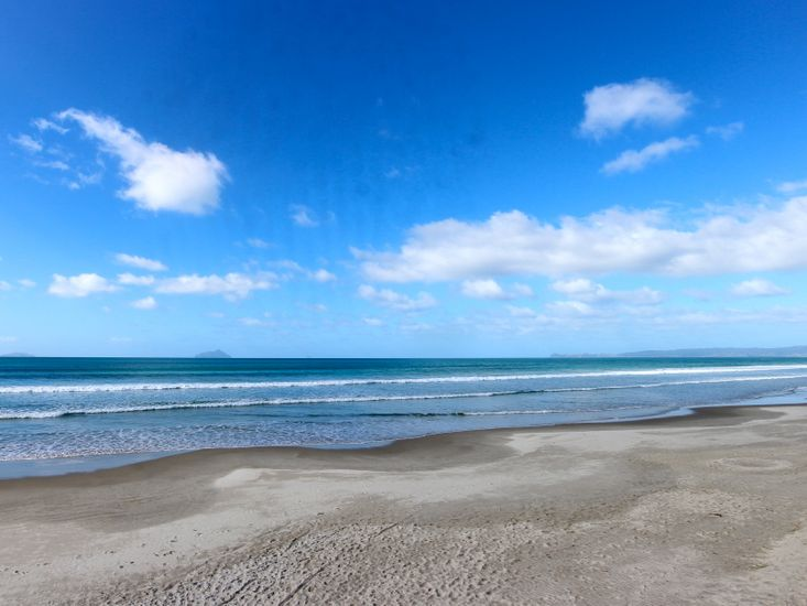 Ruakaka Beach - not taken from property
