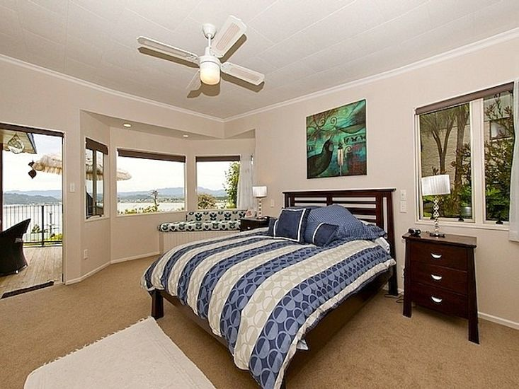 Master Bedroom to Deck - Main House