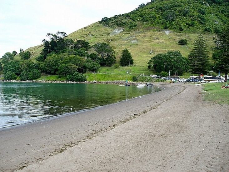 Pilot Bay Pad - Mt Maunganui Apartment - Taken from across the road
