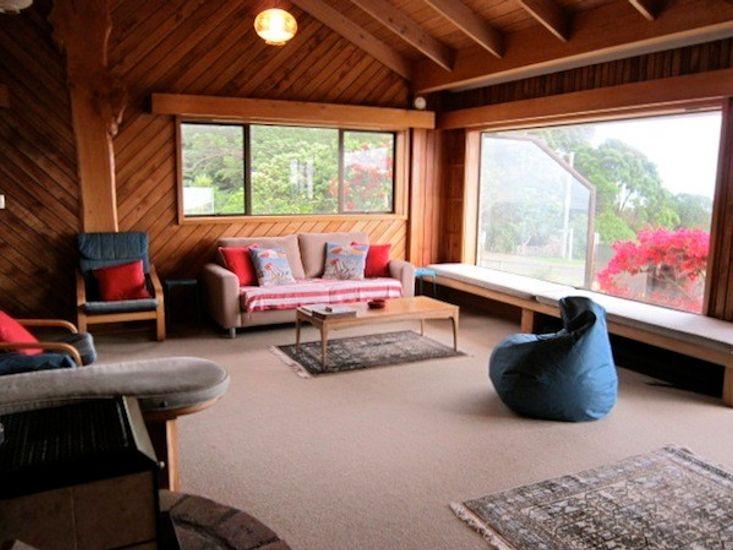 Ohiwa Accommodation - Living Area