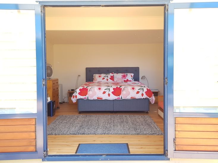 Single beds join to make super King bed
