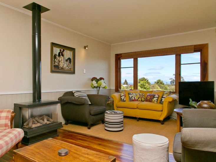Living with Fireplace - Upstairs