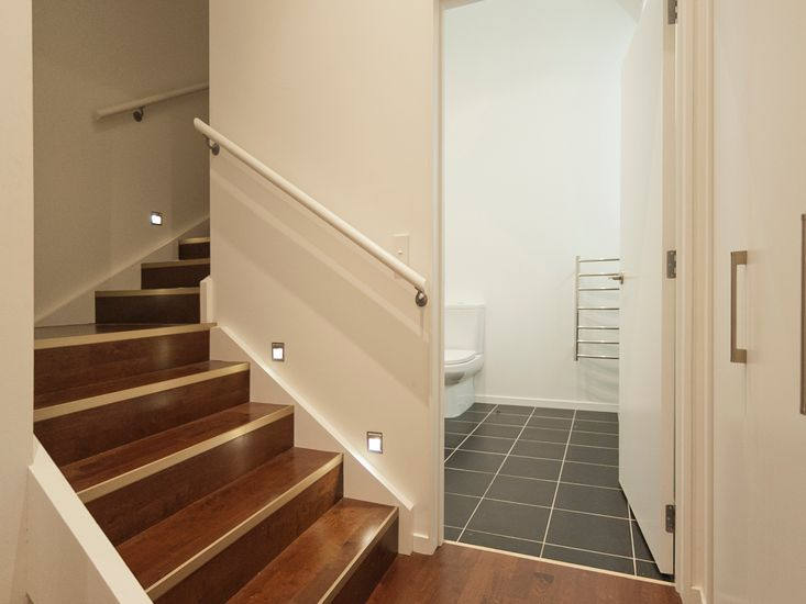 Internal Stairs and Downstairs Bathroom