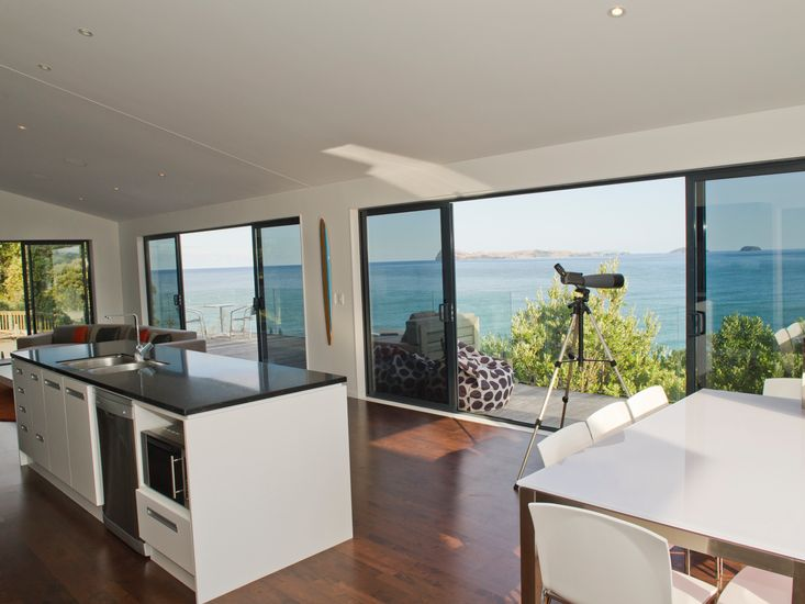 Dining and Kitchen with Views - Upstairs