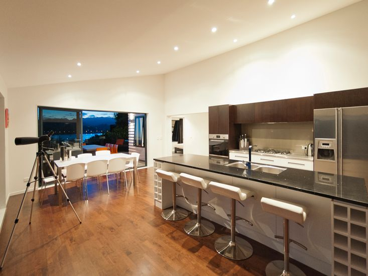 Kitchen and Dining - Evening