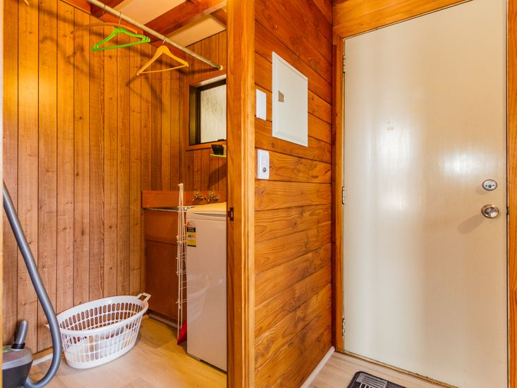 Laundry and Rear Door