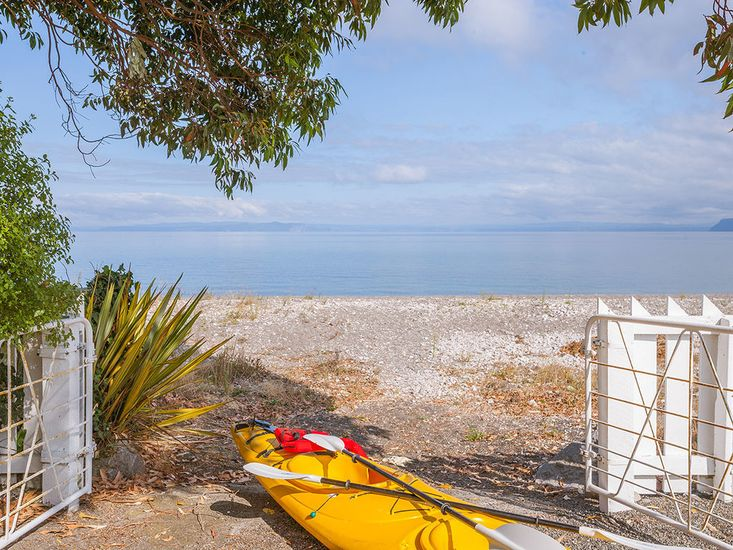 Complimentary kayak for guest use