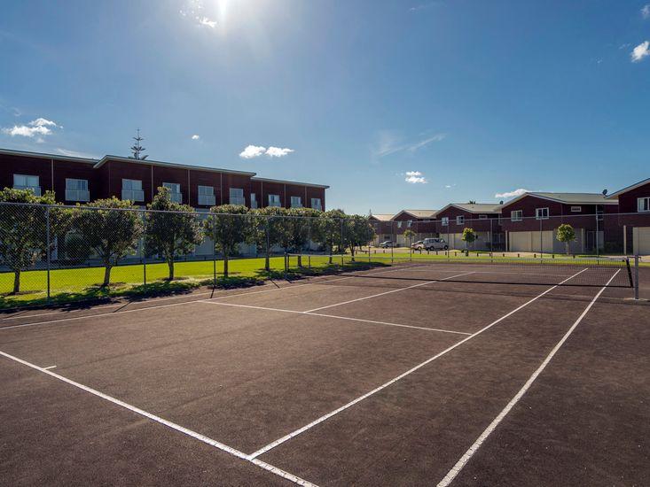 Tennis Court on Site