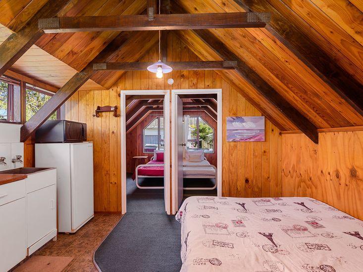 Unit - Kitchenette & Bedrooms