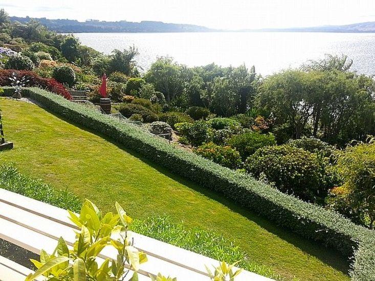 Gardens and Lake Views