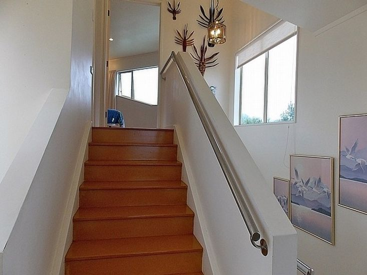 Stairs up to Bedroom 1
