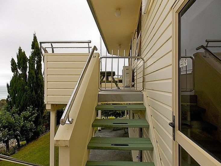 Exterior and Deck Access