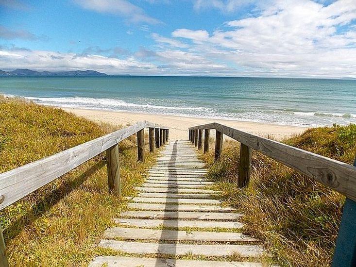 Boardwalk onto Beach