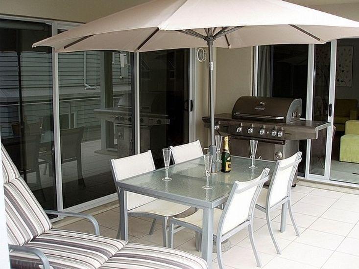 Holiday Inn - Mt Maunganui Apartment - Balcony