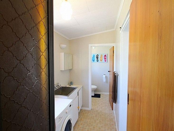 Shower, Laundry, Toilet
