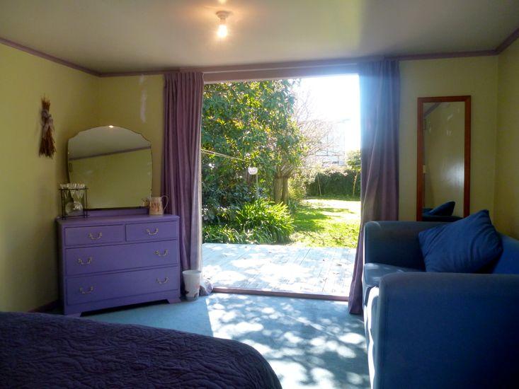 Bedroom 1 - Sleepout to Garden